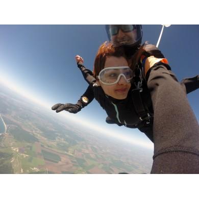 Скок с парашут от 3500 до 4000м.
