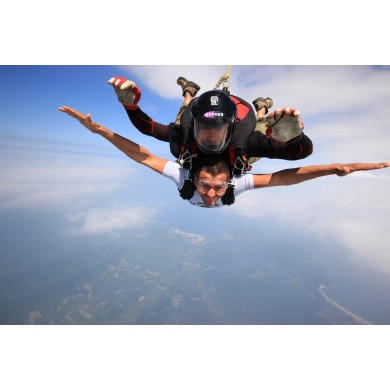 Скок с парашут от 2700м.