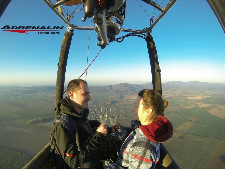 ВИП полет с балон за двама, до 40 мин.